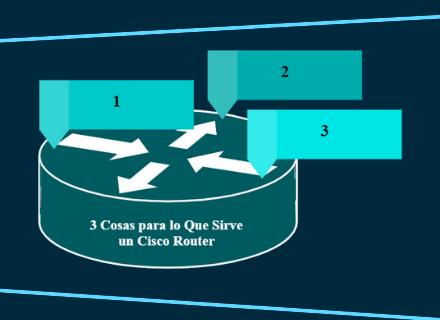 3 Cosas para lo Que Sirve un Cisco Router